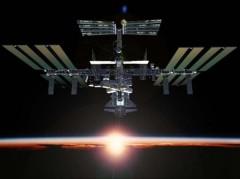 ISS, rottame spaziale, stazione spaziale,